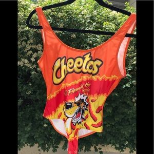 Forever 21 Cheetos Bodysuit- Size Small